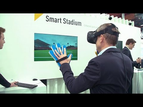 CeBIT showcases world's most advanced Virtual Reality system