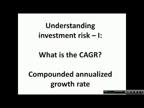 What is the CAGR of an equity investment?
