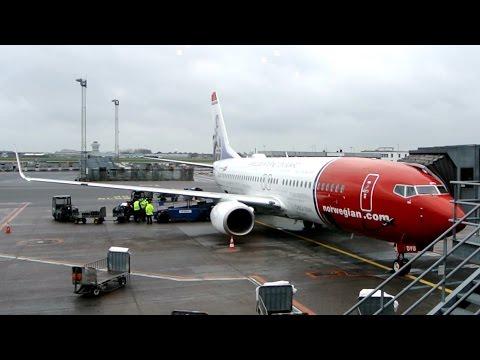 Norwegian ✈ Boeing 737-800 [LN-DYU} ✈ Aalborg - Copenhagen ✈ 12 DEC 2014