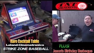 #963 Strike Zone Arcade Video Game Rare Cocktail By Leland/cinematronics - Tnt Amusements