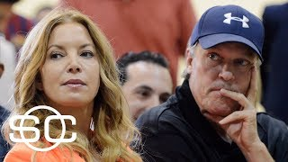 Lakers president Jeanie Buss and brother Jim no longer on speaking terms | SportsCenter | ESPN