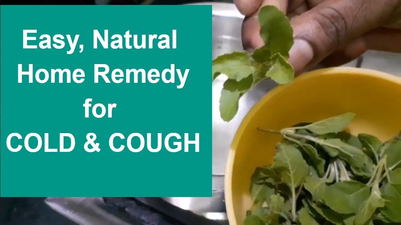 Natural Home Remedy for Cough & Cold    Fast & Effective Relief   Stop Cough & Cold   For all ages