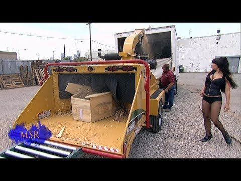 MAGICIAN PULVERIZED BY WOOD CHIPPER-- HOW CAN HE SURVIVE?