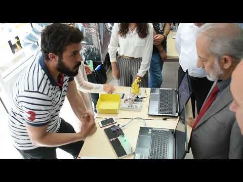 HRÜ'de Geleceğin Mühendisleri Projelerini Yarıştırdı