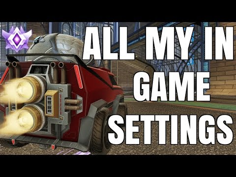 ALL MY IN GAME SETTINGS | HOW PROS MAKE THEIR GAMES RUN SMOOTHER