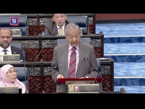 [RECORDED] Statement of Prime Minister Tun Dr Mahathir Mohamad