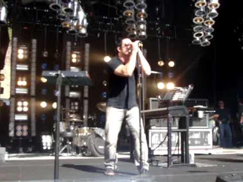 "Nine Inch Nails - ""Survivalism"" - SOUNDCHECK live in Santa Barbara"