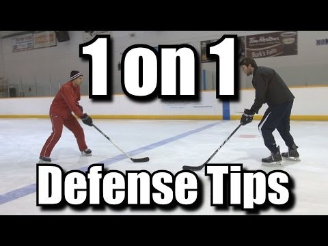 1 on 1 Defense Tips for Hockey