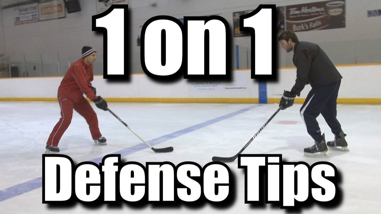 f9f4cfd3652 1 on 1 Defense Tips for Hockey - YouTube