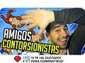AMIGOS CONTORSIONISTAS! | Sarinha, Exo y Luh en Mount Your Friends
