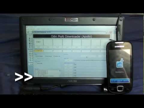 how to flash with Odin (Kyrillos ROM 10.2) (GT i5800) (HD)
