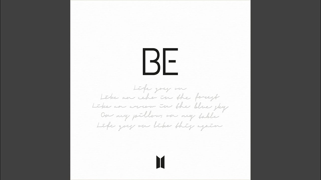 Arti Lirik dan Terjemahan BTS - Blue & Grey
