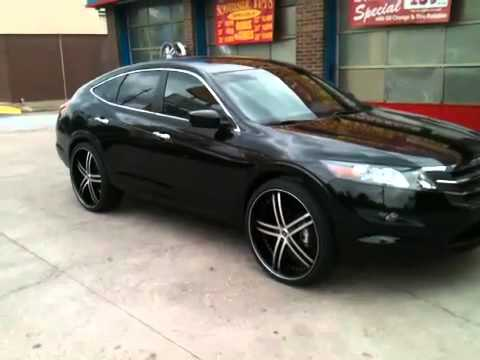 Honda Crosstour 2011 Custom Rims Youtube