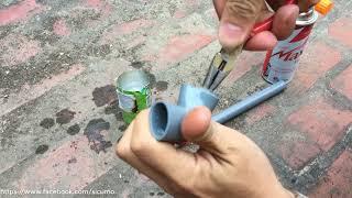 hướng dẫn tháo ống PVC đã dán keo