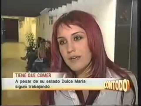 Dulce Maria se desmaya en la grabación de Rebelde