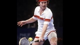 John McEnroe - French Open 1984 - Servizio e drop-shot