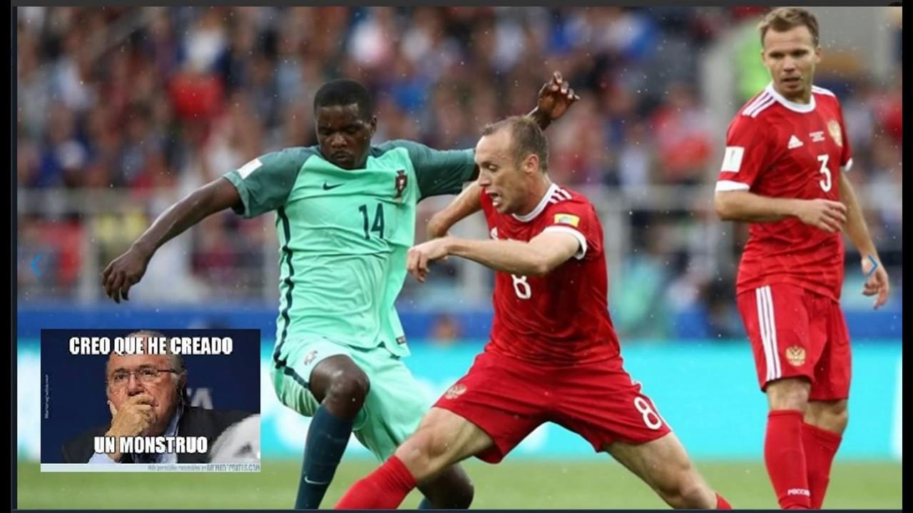 Rusia vs. Portugal (0-1): GOLES