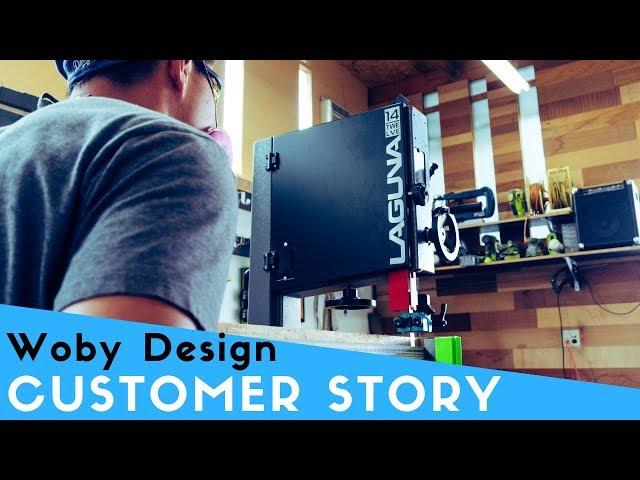 Customer Story: Ben Paik from Woby Design | Laguna Tools