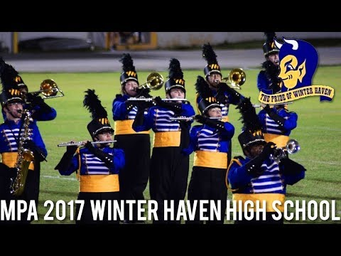 """The Pride of Winter Haven HS Band - """"The Music of Michael Jackson"""" @ MPA 2017 [HD]"""