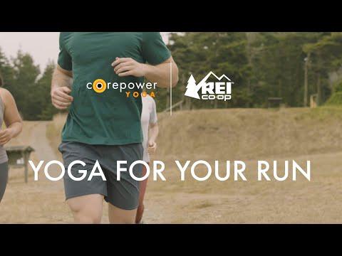 CorePower Yoga x REI: Yoga for Your Run