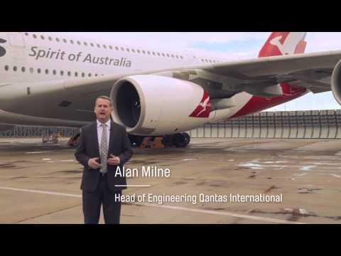 Qantas A380 From Sydney - Dallas .....