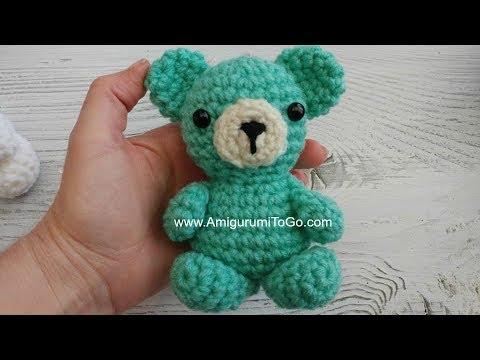 Ravelry: Miniature Hunny Bear pattern by Sharon Ojala | 360x480