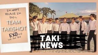 Takinews| Premios de EXO| Regalos de cumpleaños de Sehun| Exoplanet 5| Mascota Taki