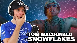 Rapper Reacts to TOM MACDONALD SNOWFLAKES!! | LET'S GET OFFENDED! (FIRST REACTION)