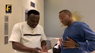 SEE HOW SAHEED OSUPA AND OMOYELE SOWORE MEET AT THE HOTEL FOR THE FIRST TIME