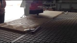 Auto Tool Changer Cnc Wood Door Making Machine