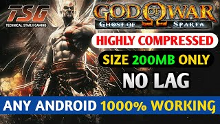 [200MB] How To Download God Of War Ghost Of Sparta Game In Android No Lag Psp Best Setting
