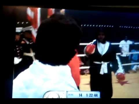 """Mr. T with a classic charge up. """"Hey boy!"""" LOL"""