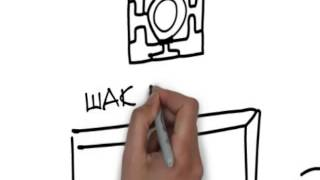 Рисованное видео.  Семинар Чжун юань цигун. Первая ступень