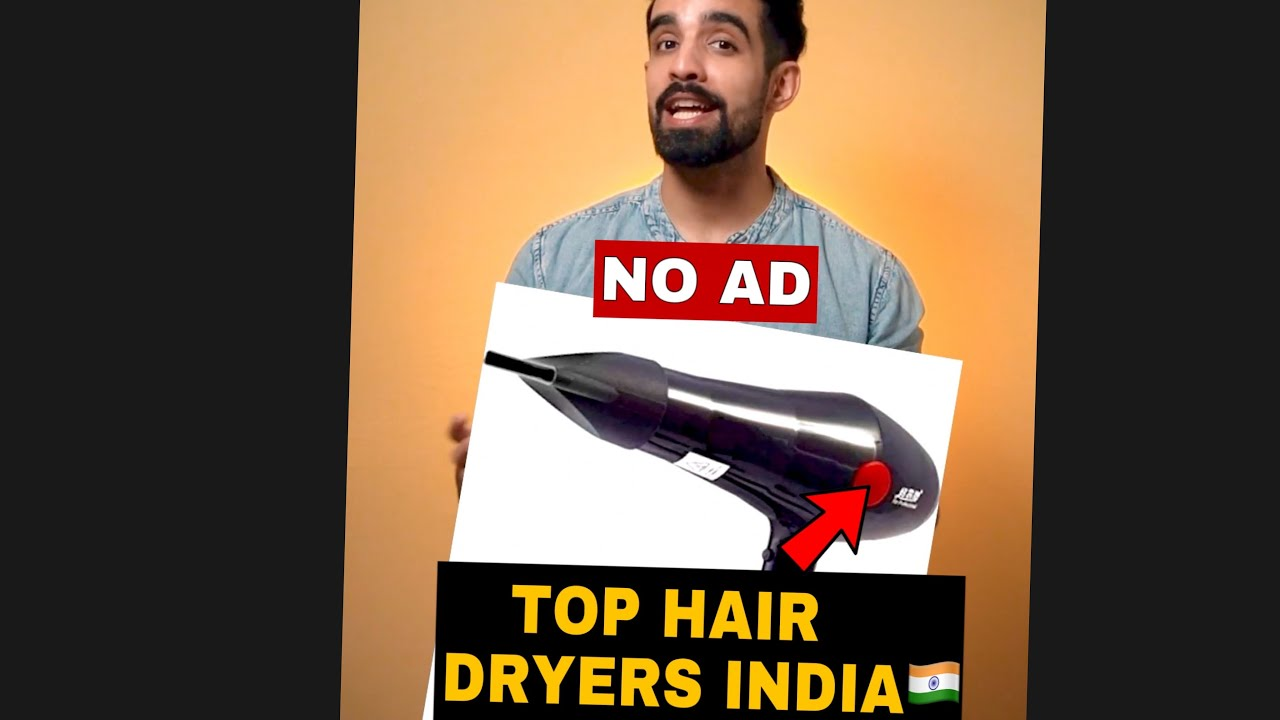 TOP HAIR DRYERS IN INDIA🇮🇳 *NO AD*  #Shorts #Dryer