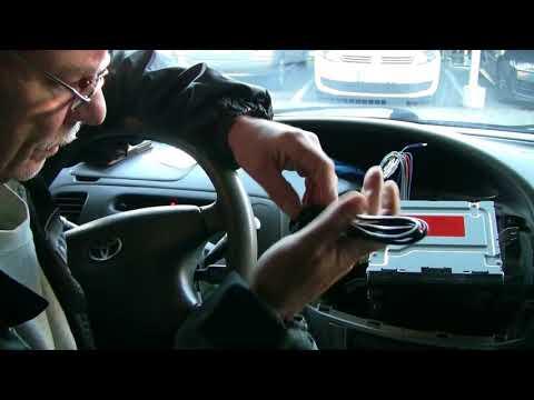 Toyota Previa D4D Radioeinbau Doppel-Din