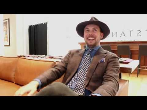 Creative Director Chats - Drake's London Ties