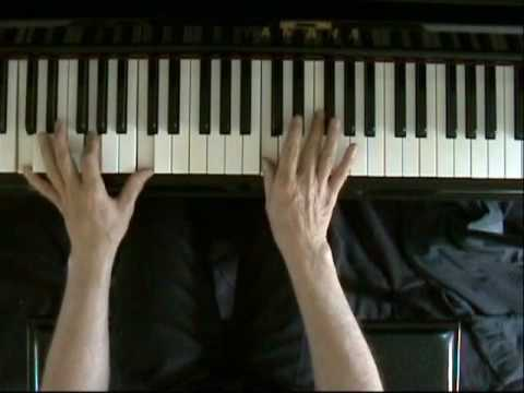 Learn blues piano lesson 8