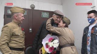 «Фронтовые бригады» поздравили ветеранов Великой Отечественной войны