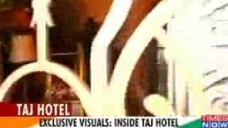 Visuals of Taj hotel after the ambush
