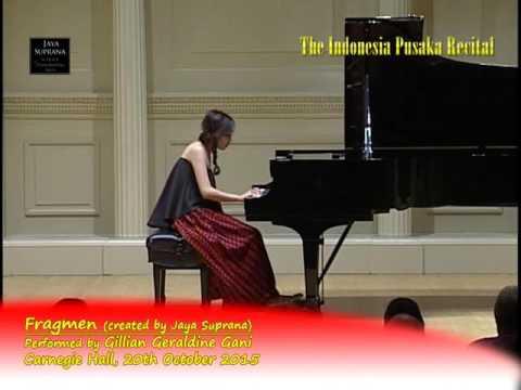 "Free Download Gillian Geraldine Gani  In ""the Indonesia Pusaka Piano Recital"" - Carnegie Hall, New York Mp3 dan Mp4"