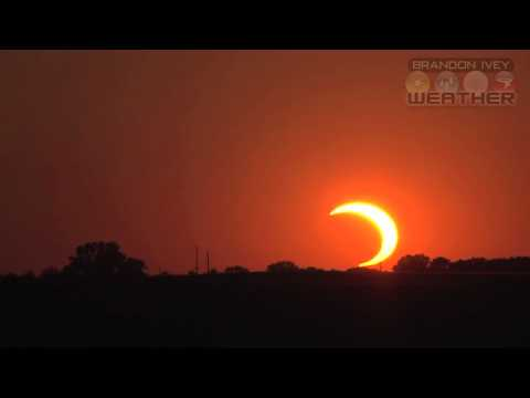 May 20, 2012 Solar Eclipse from Kansas