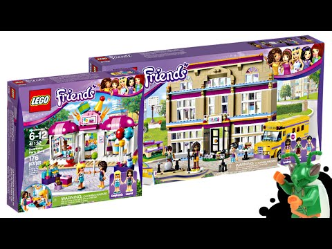 New 2016 LEGO Friends School and Party Shop sets revealed!