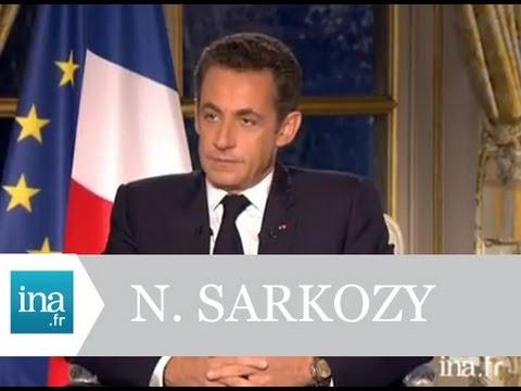 Interview Nicolas Sarkozy 29 novembre 2007 - Archive vidéo INA