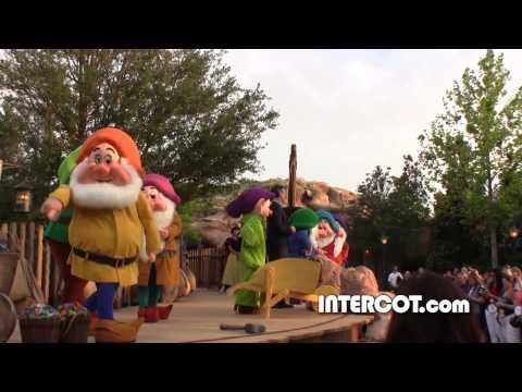 Seven Dwarfs Mine Train Dedication