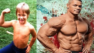 John Cena - Transformation From 1 To 40 Years Old