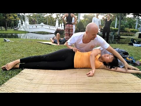 Dynamic Thai Yoga massage