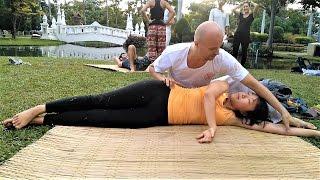Dynamic Thai Yoga massage