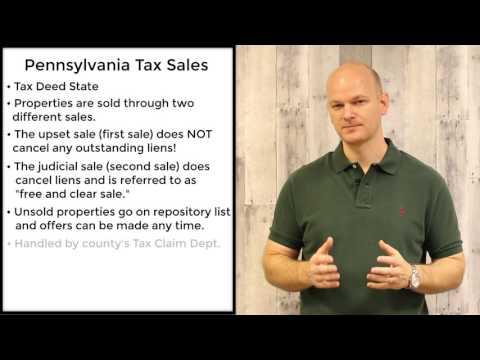 Pennsylvania Tax Sales - Tax Deeds