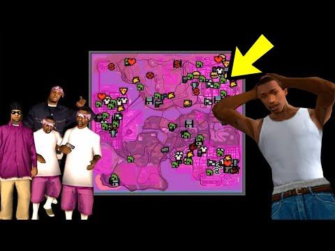 Вот что будет, если Балласы захватят всю карту GTA San Andreas