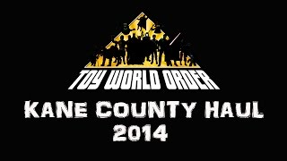 October 2014 Kane County Toy Show HAUL Video!